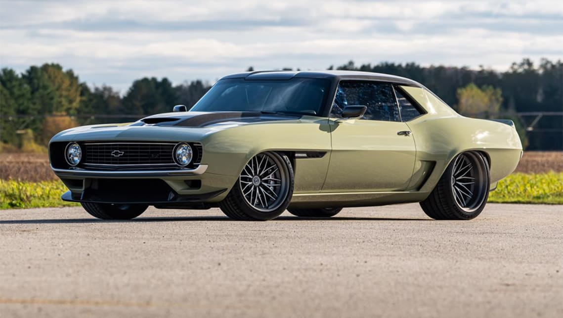 The Righteous Ringbrothers 1969 Chevrolet Camaro 'Valkyrja'. (image: The Drive)