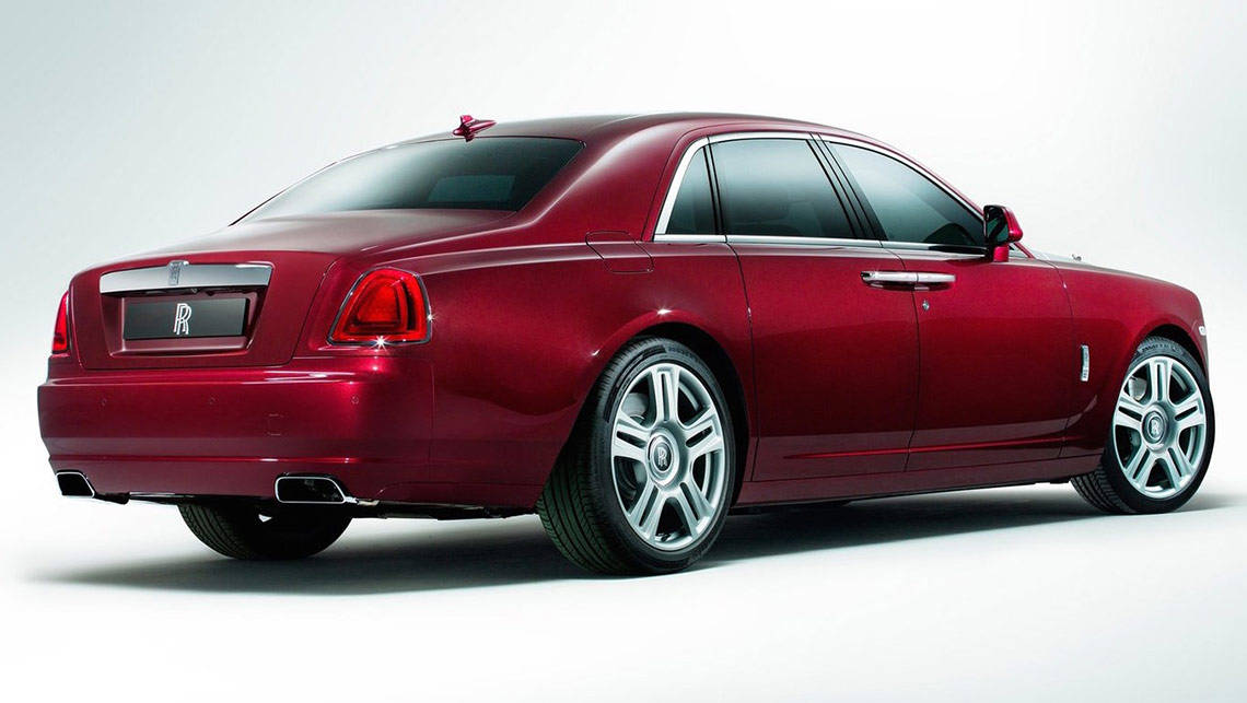 The new Rolls-Royce Ghost Series II costs $545,000. November 2014. Photo: Supplied.