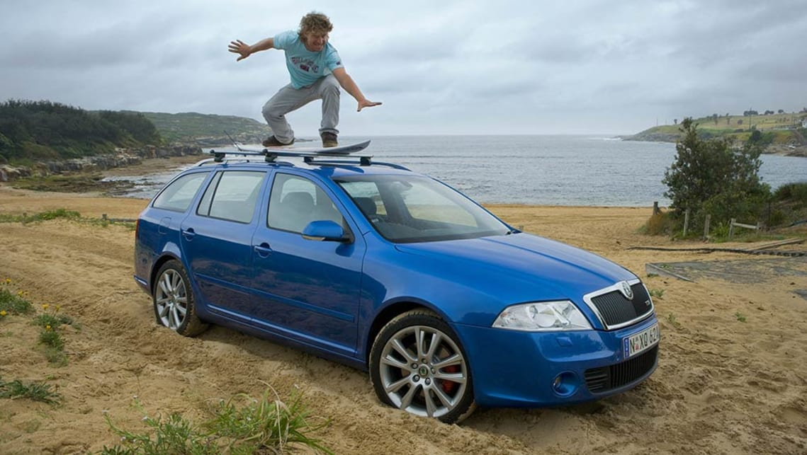 2007-Skoda-Octavia-Former world surfing champion Mark Occhilupo