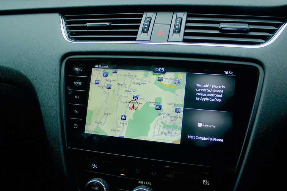The optional 'Tech Pack' consists of an upgrade to the 9.2-inch screen with nav.