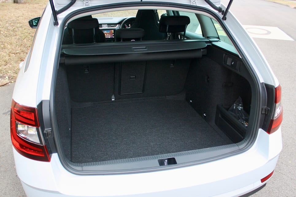 Boot space is perhaps one of the biggest advantages to the Octavia.