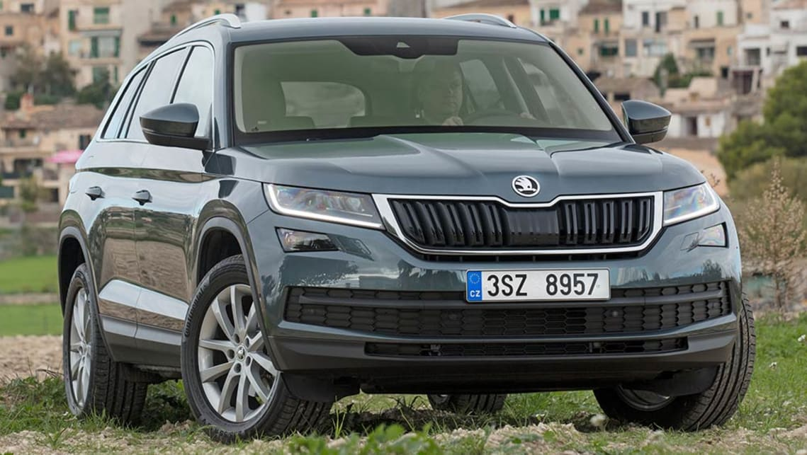 2017 Skoda Kodiaq (overseas model shown)