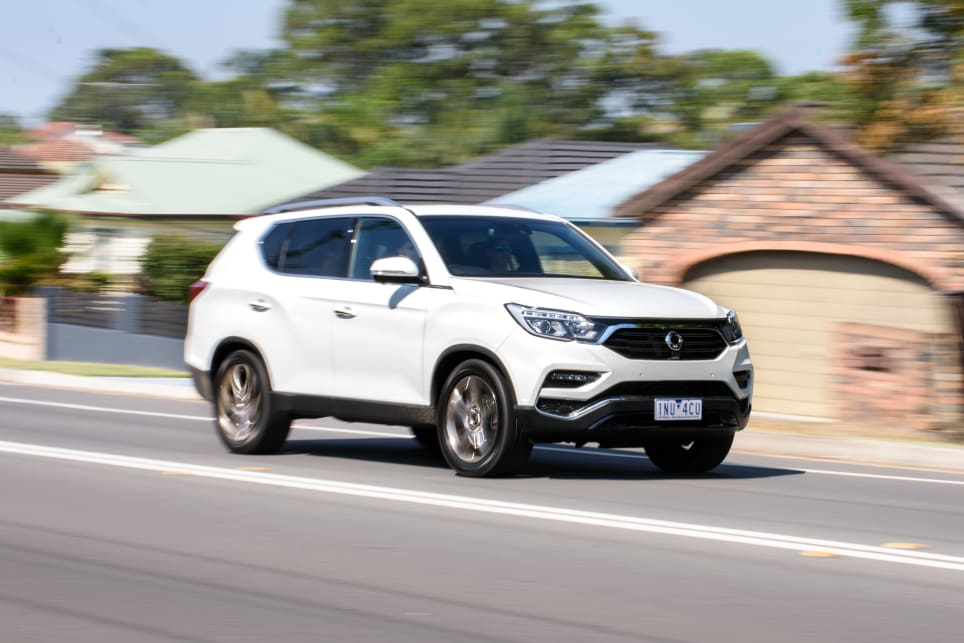 The SsangYong's main letdown is the engine, but the transmission is nicely sorted, and it's very quiet.