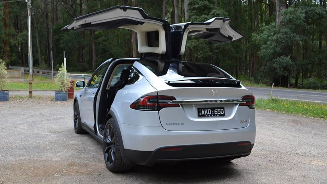 Tesla Model X 2017 (P100D model shown) image credit: Richard Berry