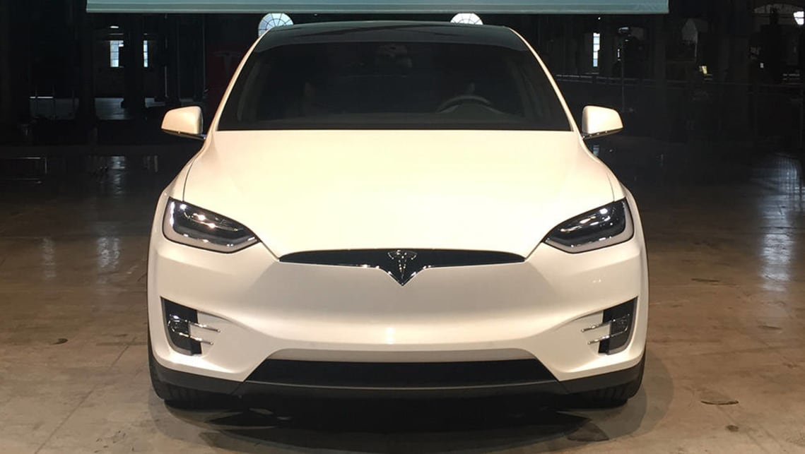 2016 Tesla Model X. Picture credit: Matthew Hatton.
