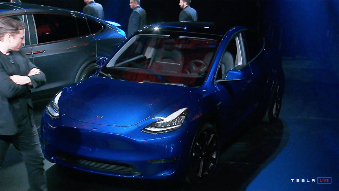 Tesla CEO Elon Musk said the Model Y will be available with seven seats.