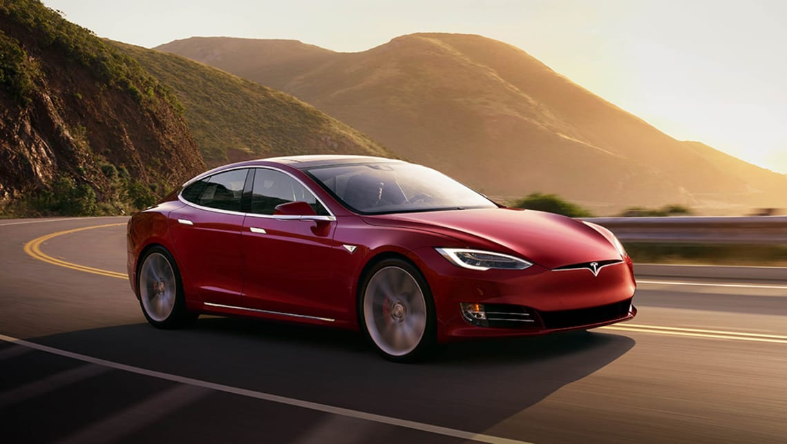 With a range of just under 600km, it makes sense that we might see the Model S hit the roads. (image: supplied by manufacturer)