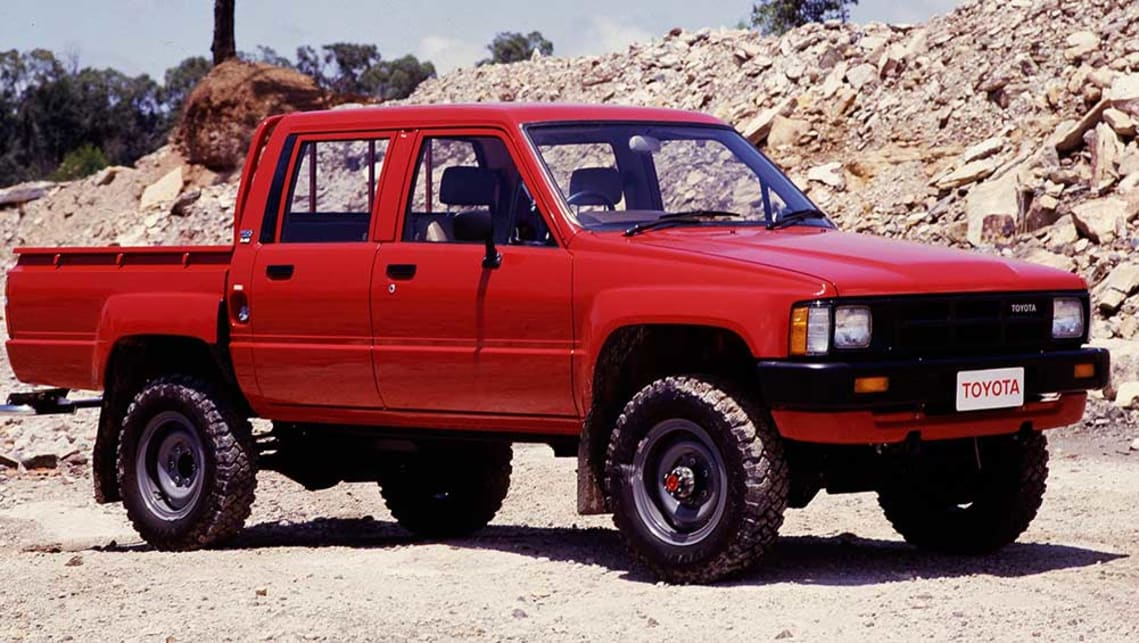 Fourth-gen Toyota HiLux built 1984-1987