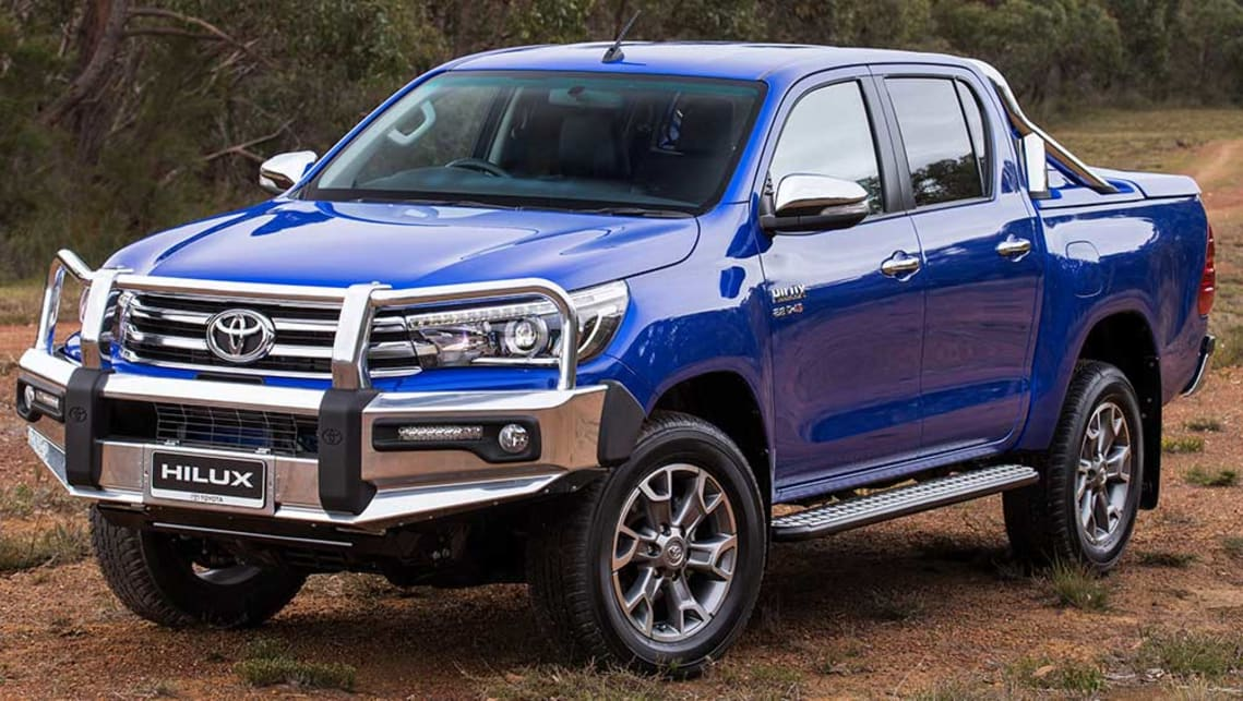 All-new 2015 Toyota HiLux wearing Toyota Genuine accessories