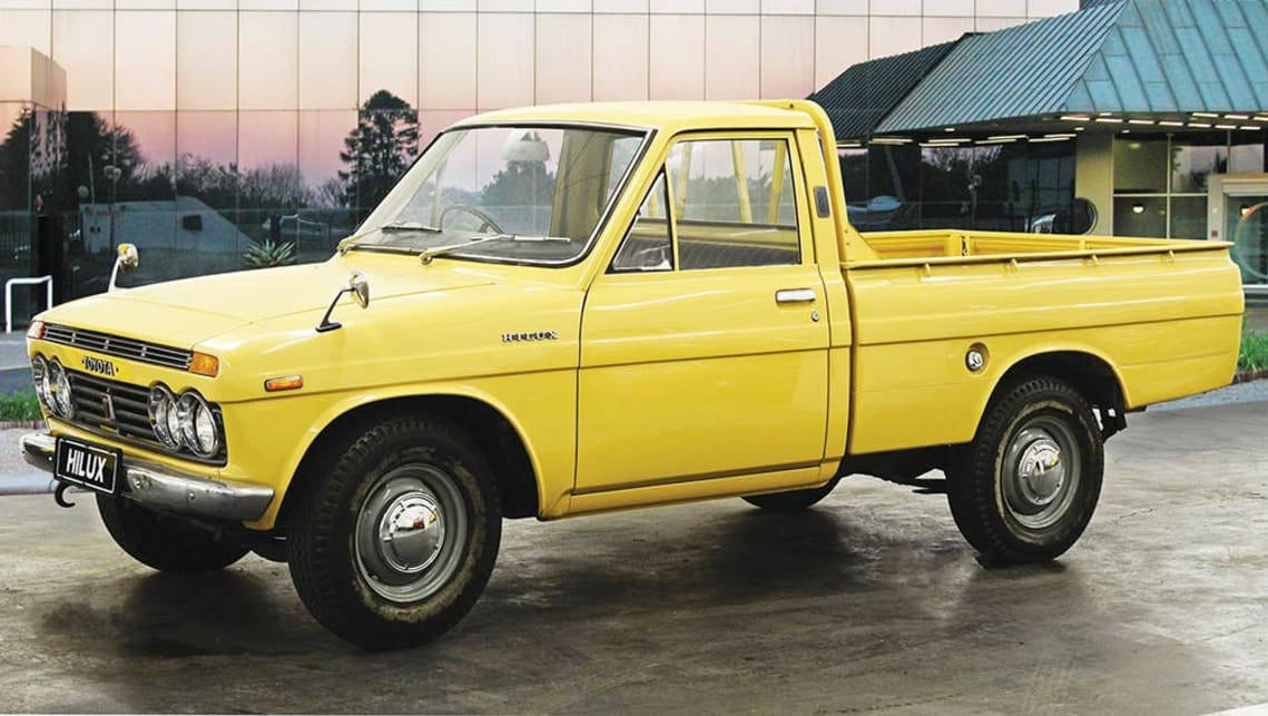 First-gen Toyota HiLux N10 series built 1968-1972
