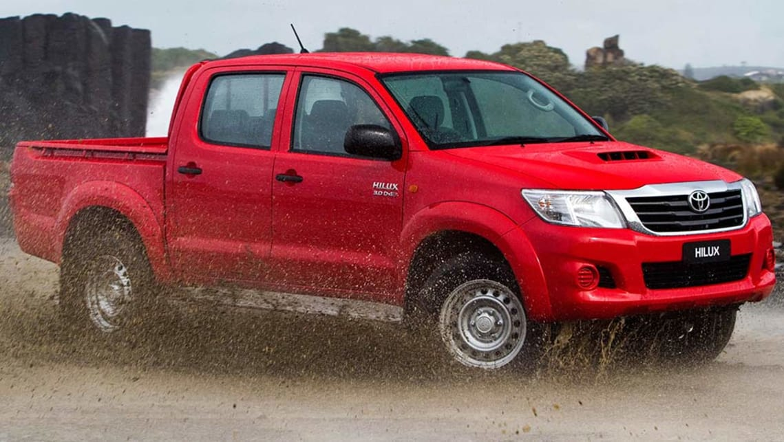 Seventh-gen facelifted Toyota HiLux built 2011-2015