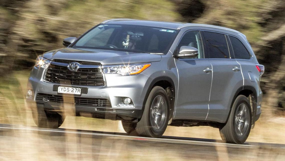 2016 Toyota Kluger GXL AWD