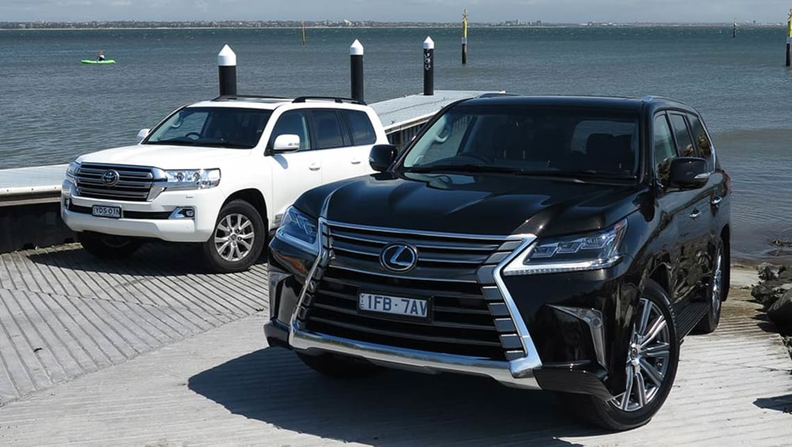 Toyota Land Cruiser Sahara And Lexus Lx570 2016 Review Carsguide
