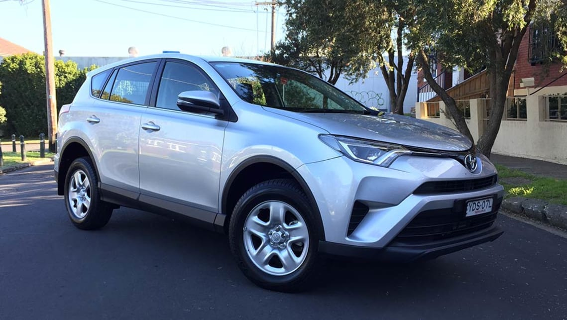 2016 Toyota RAV4 GX 2WD. Photo credit: Richard Berry.
