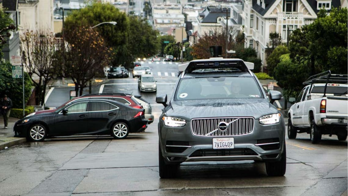 The Uber Volvo autonomous XC90 pilot program is heading west to San Francisco, California, following a trial in Pittsburgh, Pennsylvania.