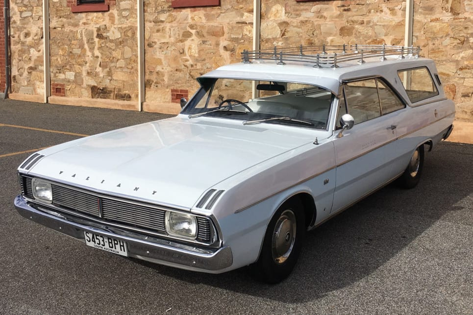 Would you be seen dead in this VG Valiant hearse