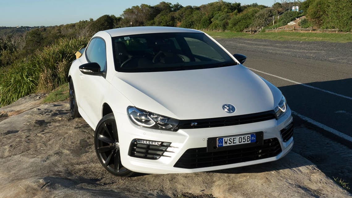 2017 Volkswagen Scirocco R Wolfsburg Edition. Image credit: James Cleary.