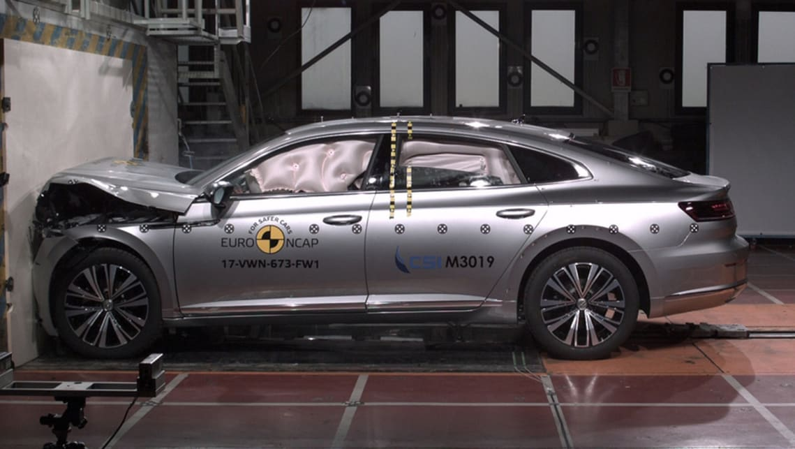 Volkswagen's Arteon has been graded in accordance with Euro NCAP protocols.