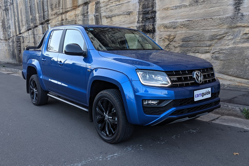 As utes go, the Amarok is definitely one of the better looking ones,  with a commanding profile that has stood the test of time. (image: Dan Pugh)