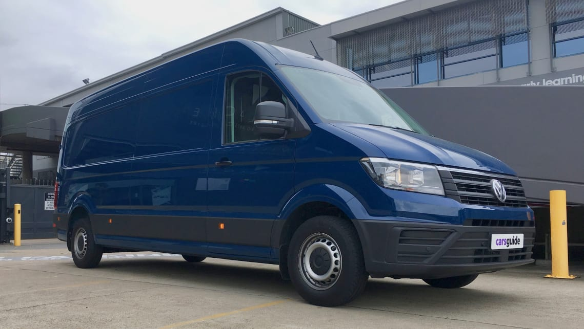 Vw Crafter 2019 Review Tdi410 Lwb High Roof Carsguide