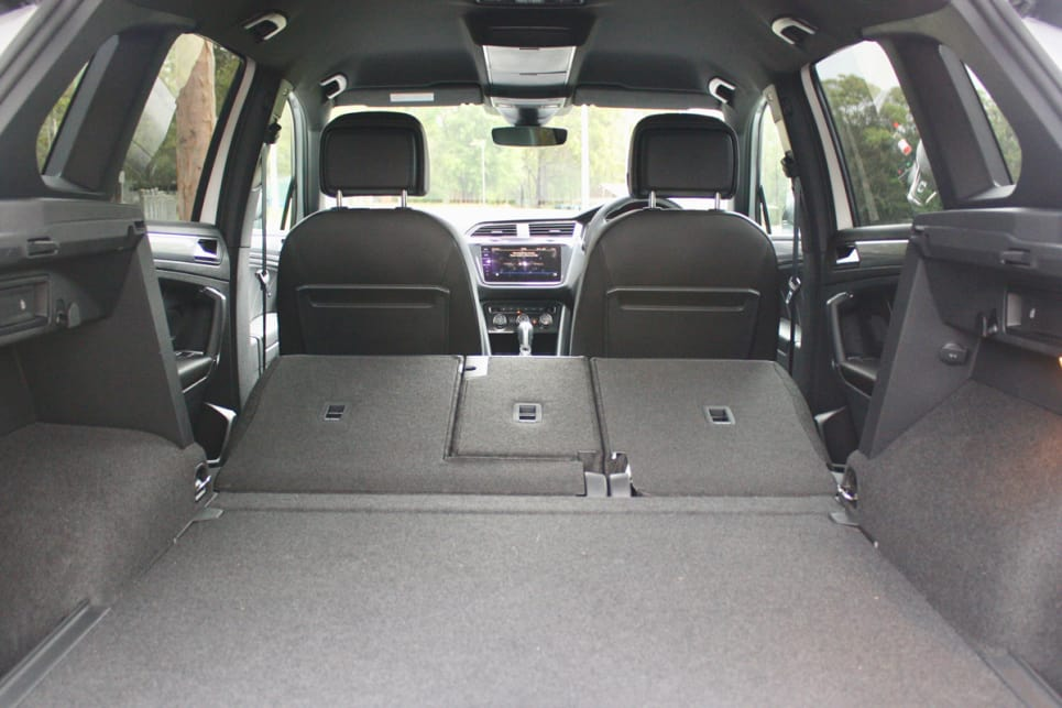 Fold the back seats down, and you've got a whopping 1655L.