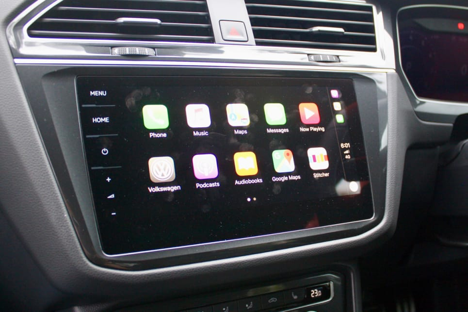 Multimedia needs are met through an 8.0-inch multimedia touchscreen with GPS sat nav, Apple CarPlay and Android Auto.