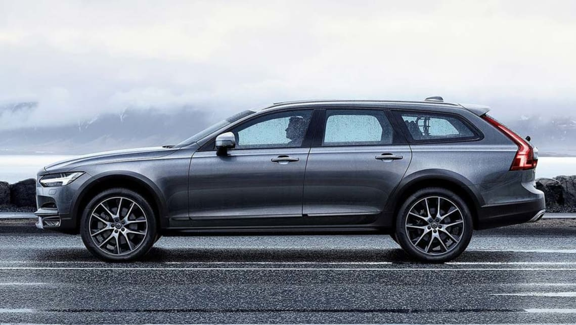 2017 Volvo V90 Cross Country.
