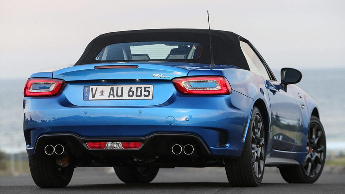 Abarth 124 Spider 2016 New Car Sales Price Car News Carsguide