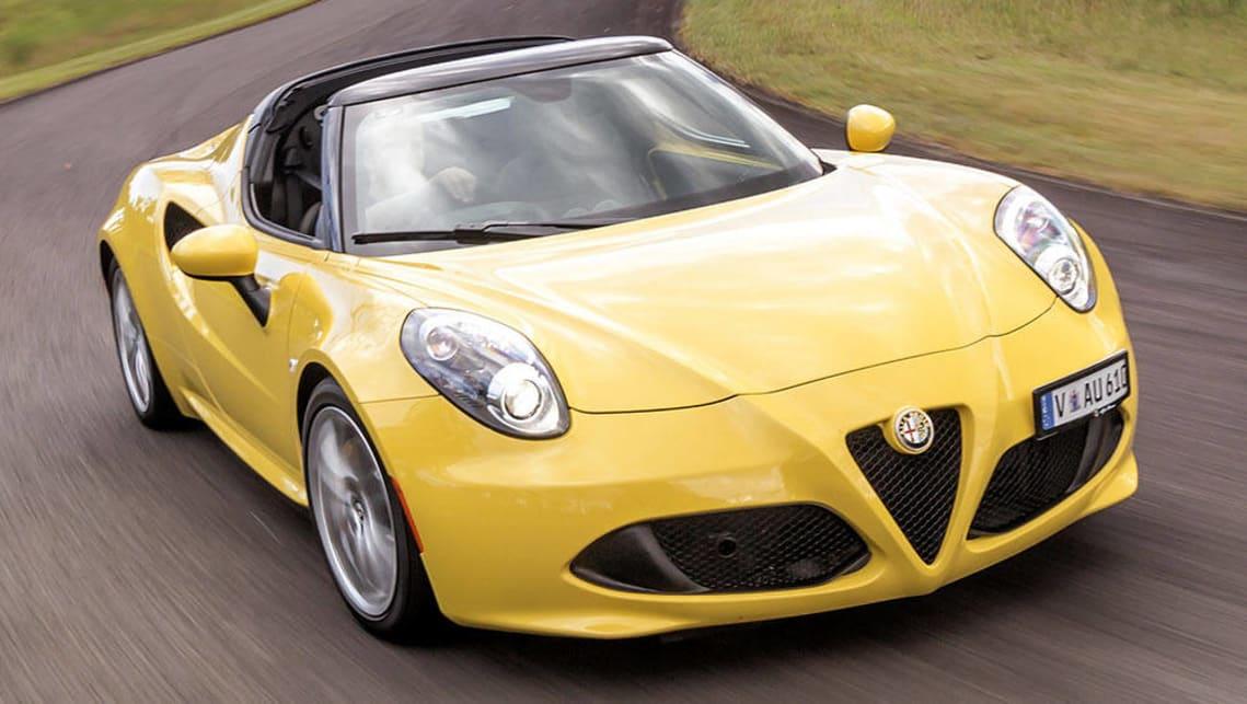 2016 Alfa Romeo 4c Spider Review Track Test Carsguide