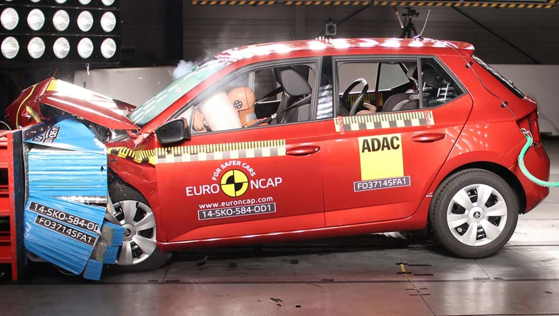 Skoda's new Fabia achieved a five-star crash safety rating from ANCAP.