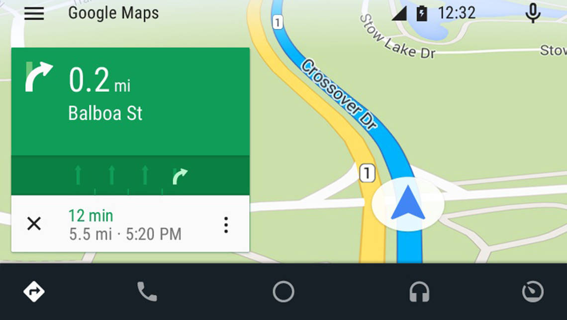 Google's Android Auto multimedia system