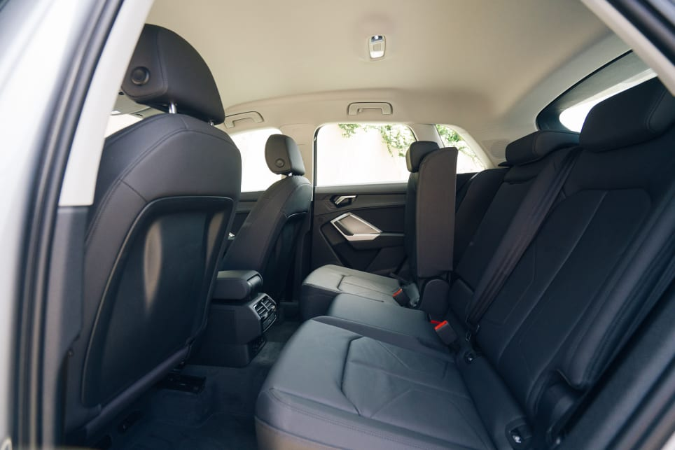 The variable rear seating arrangement is a stroke of practicality genius.