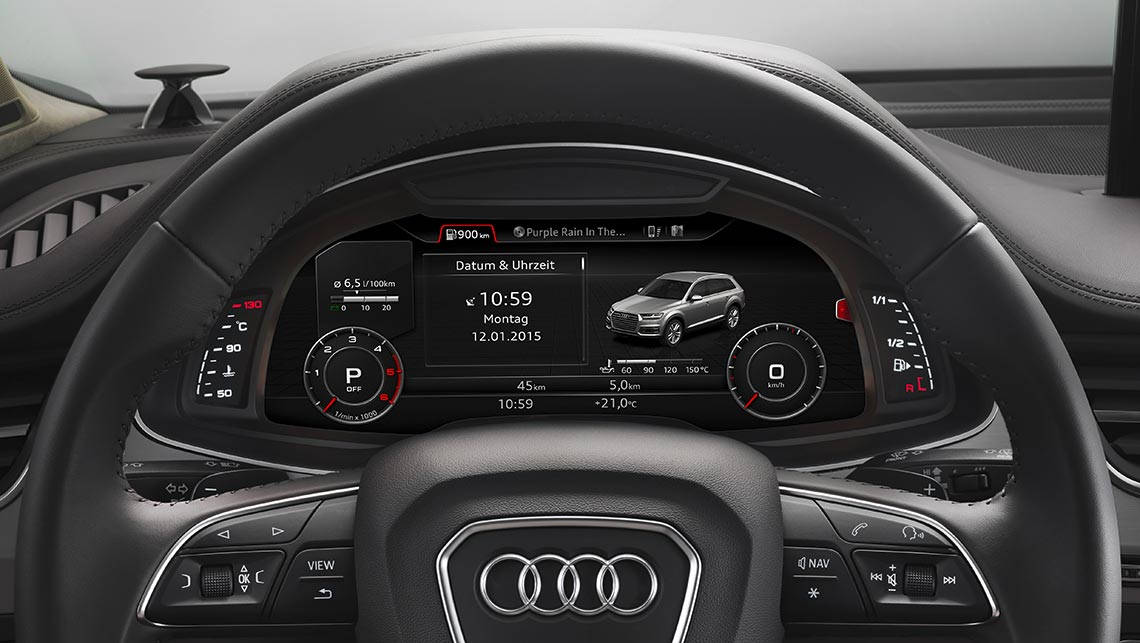 Audi's new Q7 will feature the 'virtual cockpit'.