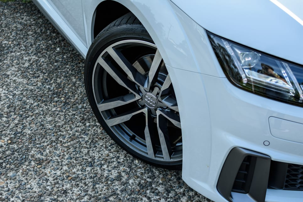 The 45 TFSI comes standard with 18-inch alloy wheels.