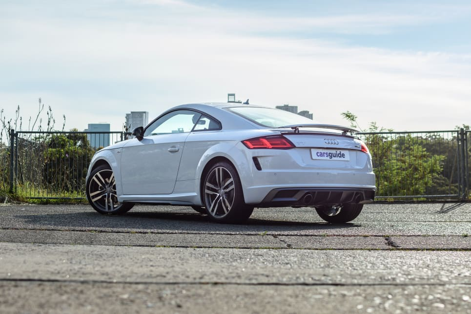 The TT 45 TFSI Quattro is the mid-grade in Audi's three-variant TT range.