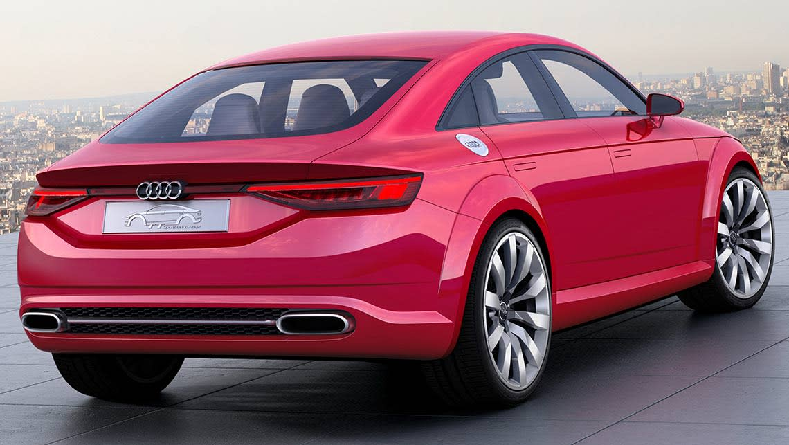 Audi Tt Sportback Concept Revealed Car News Carsguide