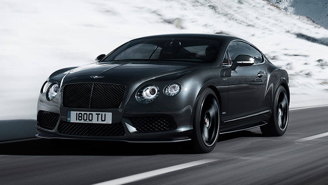 2015 Bentley Continental GT V8 S Concours Series Black