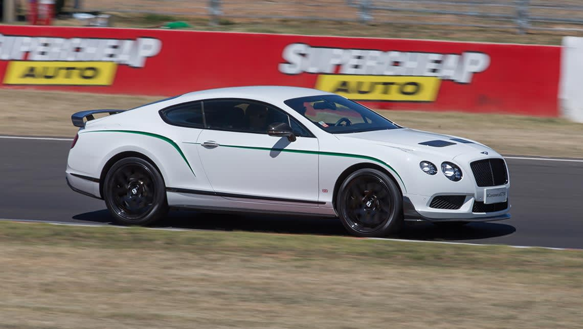 Bentley Continental GT3-R before the 2015 Bathurst 12 Hour.