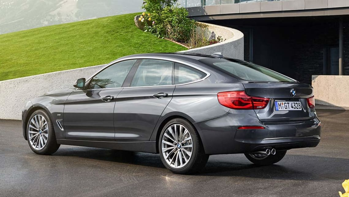2016 BMW 3 Series GT update.