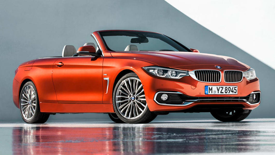 2017 BMW 4-Series convertible.