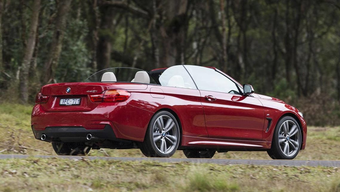 2016 BMW 4 Series Convertible (440i shown).