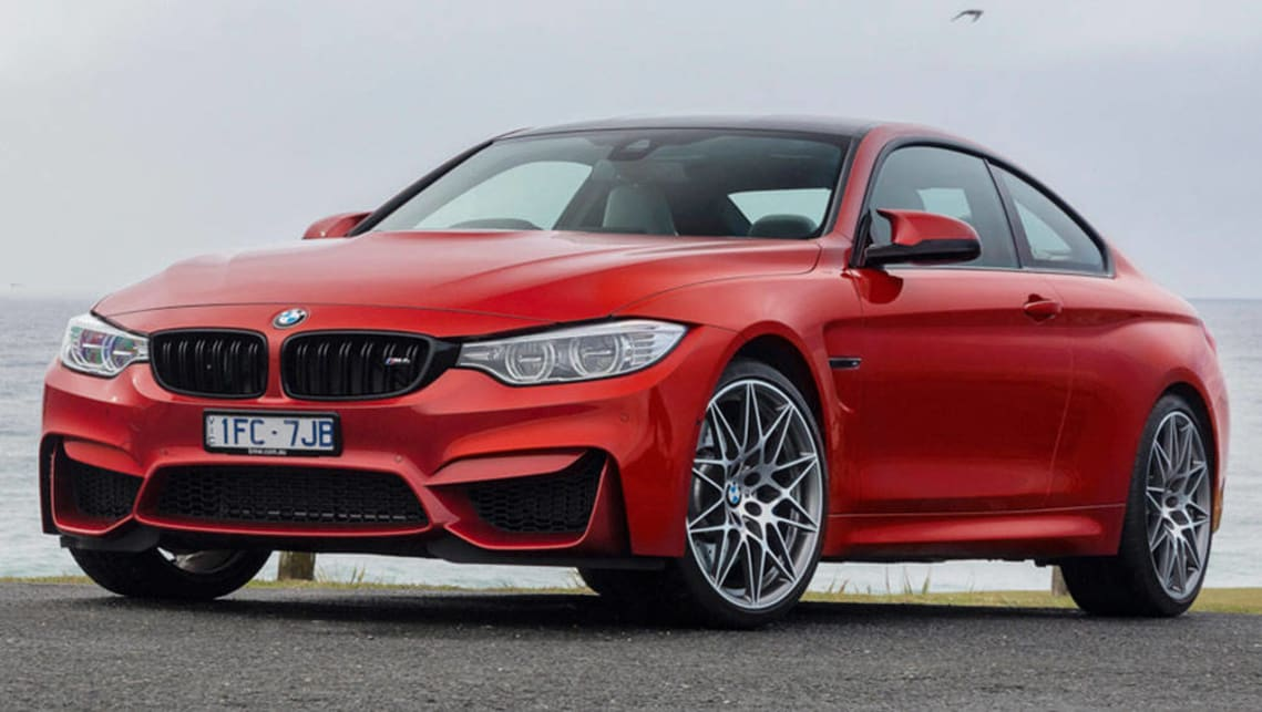 2016 BMW M4 Competition (Coupe shown).