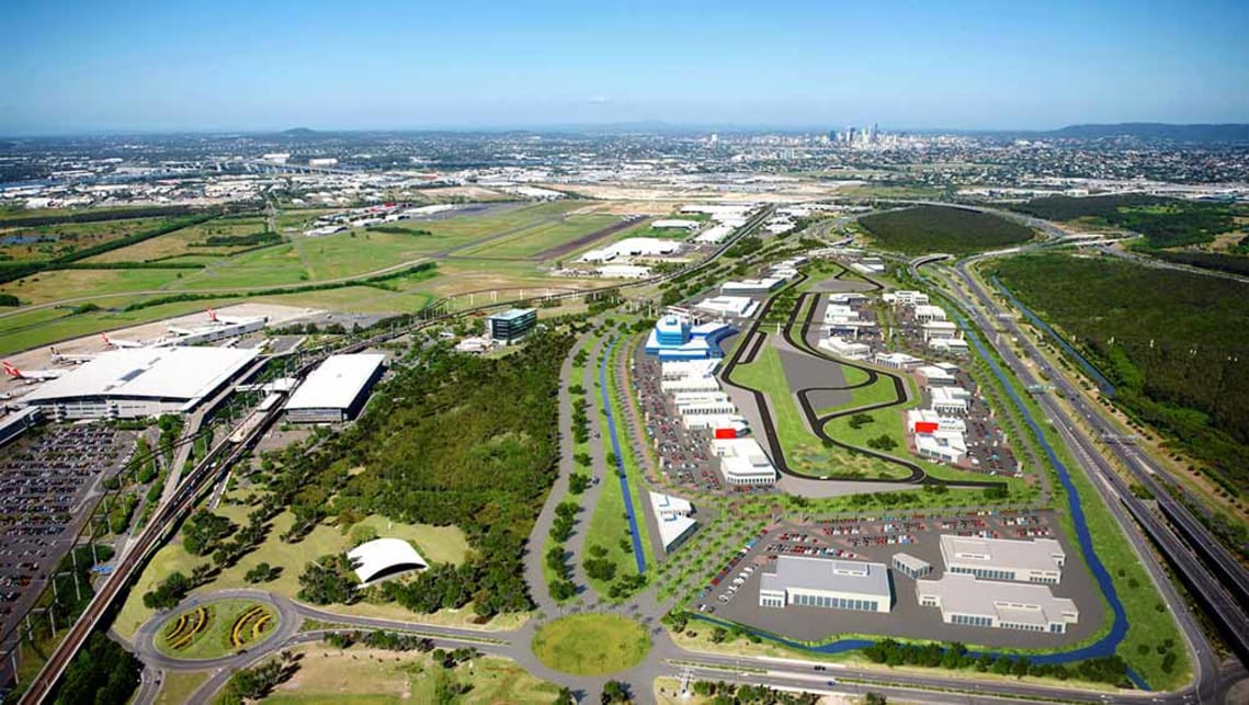 The 51 hectare-site - almost as big as Brisbane's CBD - will house up to 25 dealerships from most major brands.