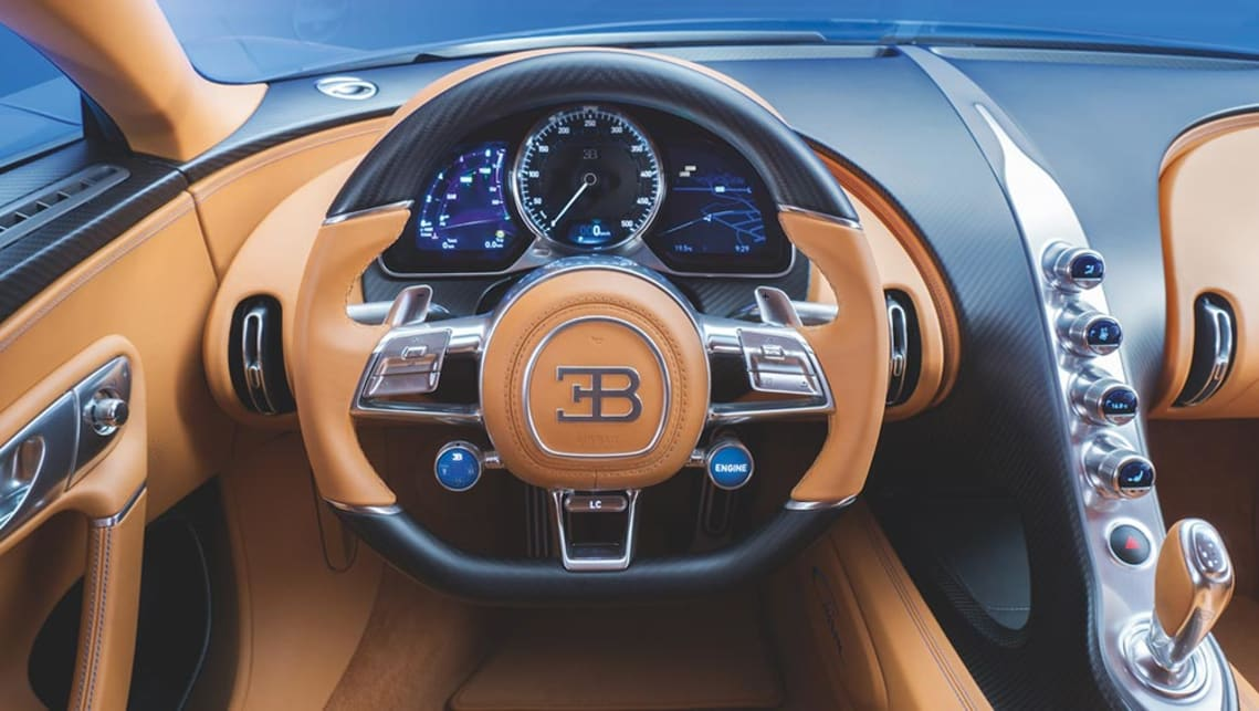 Bugatti Chiron, the world's fastest and most expensive car, unveiled at Geneva motor show.