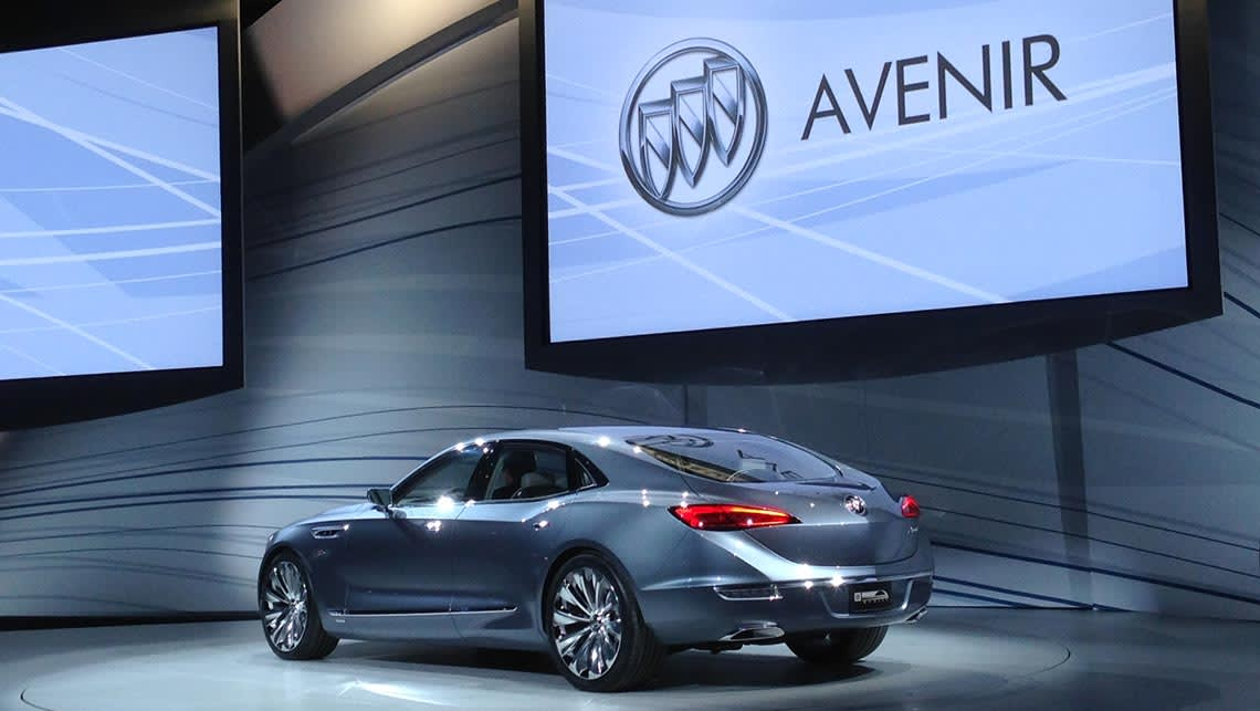 Buick Avenir concept unveiled at the 2015 Detroit motor show.