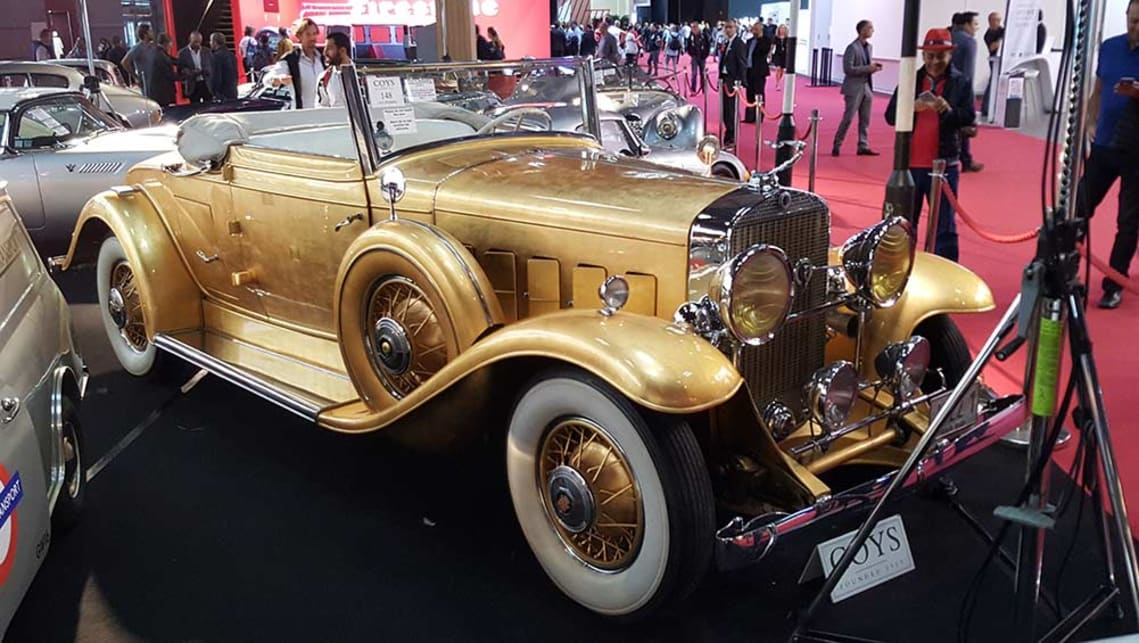 1931 Cadillac Fleetwood Drophead Coupe once owned by Liberace.