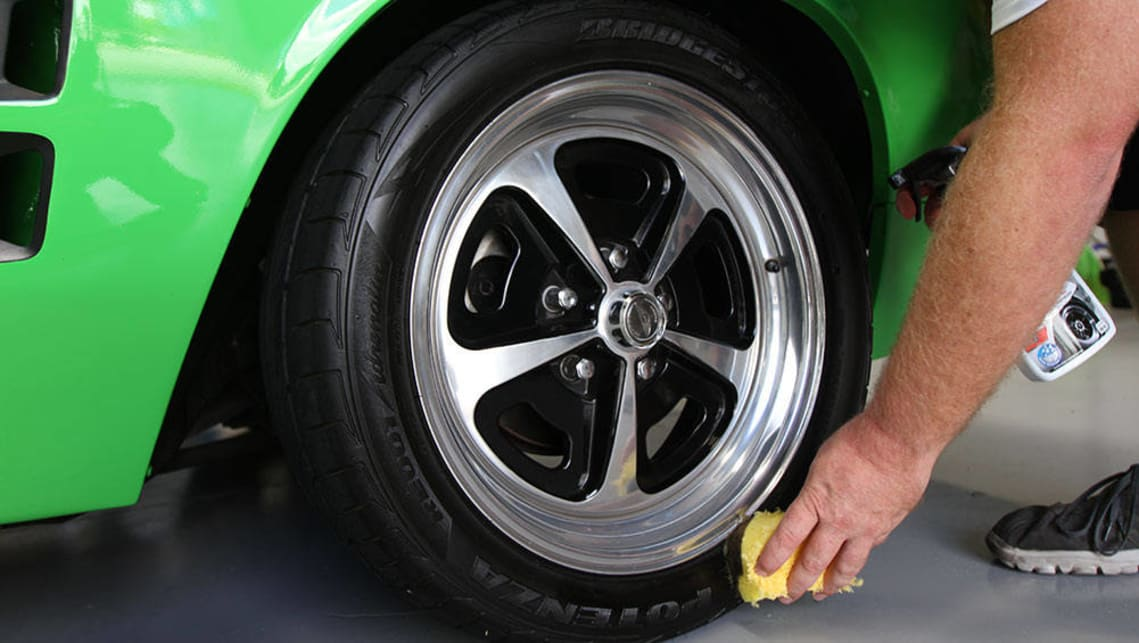 You can also protect your tyres from the elements and improve their presentation with a high-quality tyre sheen product.