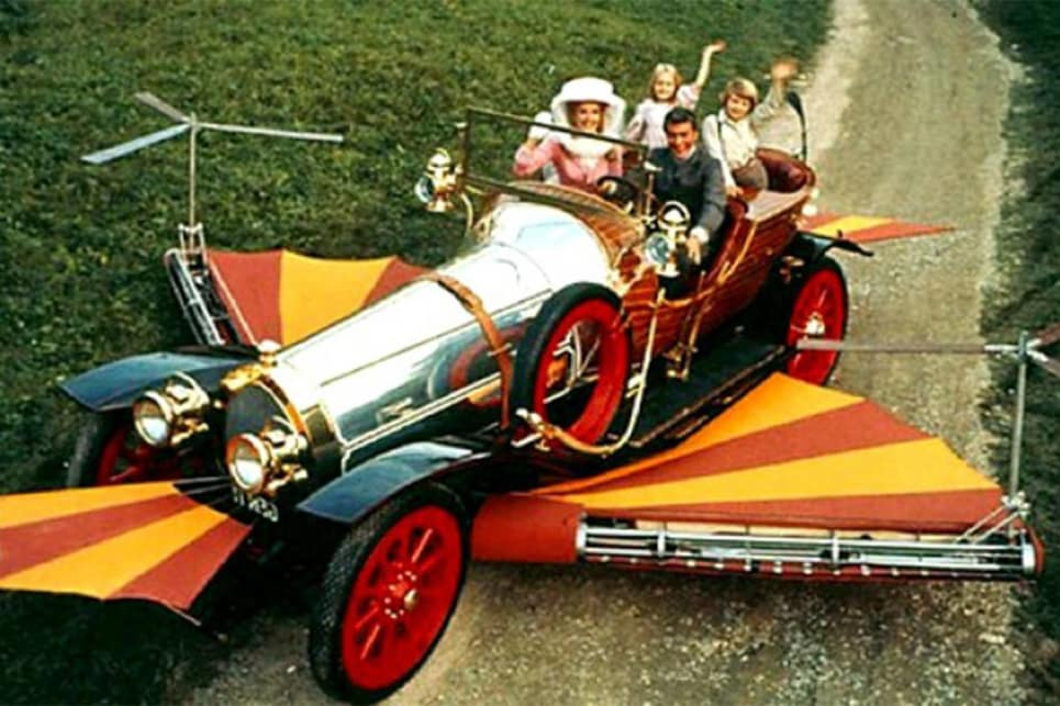 Chitty Chitty Bang Bang I love you.