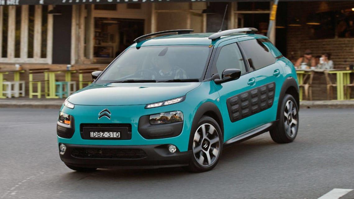 Citroen C4 Cactus >> Citroen C4 Cactus Gains Petrol Auto Car News Carsguide