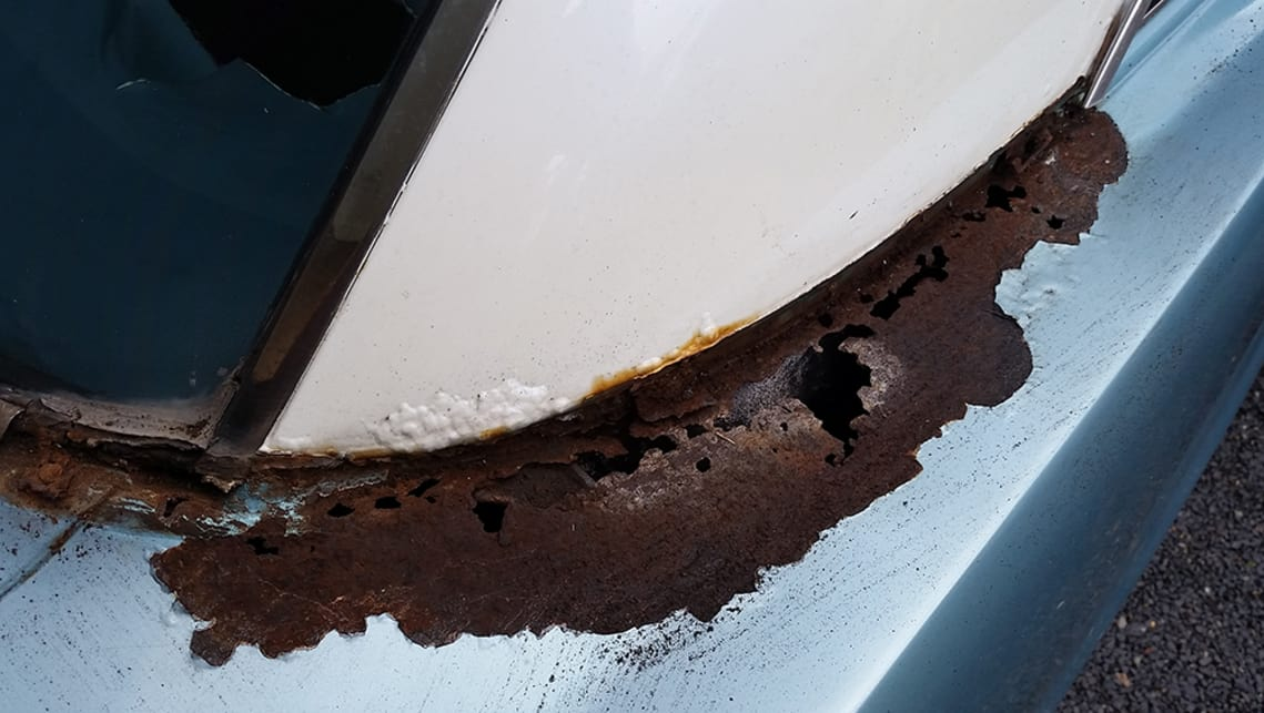 Car rust repair DIY: How to remove rust from a car - Car
